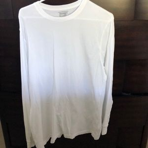 Old Navy White Long Sleeve T-Shirt